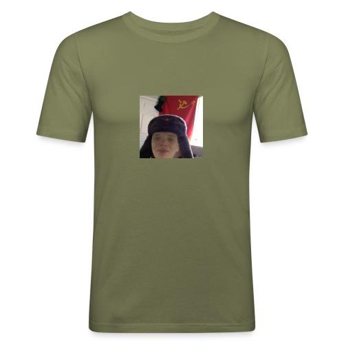 Kommunisti Saska - Miesten tyköistuva t-paita
