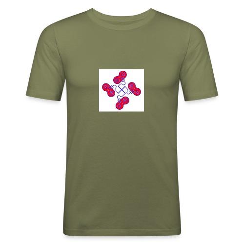 unkeon dunkeon - Miesten tyköistuva t-paita