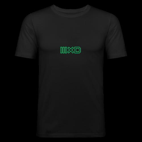 MXDMINTOUTLINE - Men's Slim Fit T-Shirt