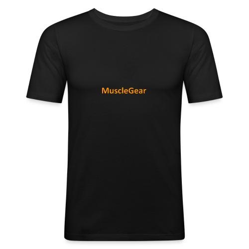 MuscleGear - Herre Slim Fit T-Shirt