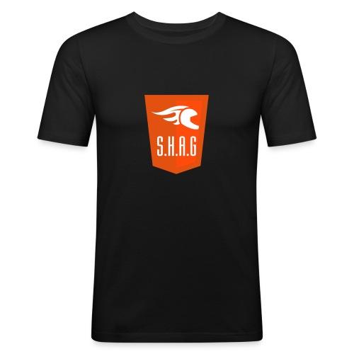 logodec2011 - Slim Fit T-skjorte for menn