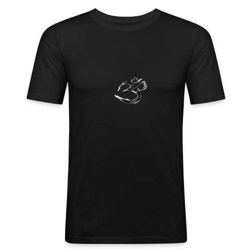 Black OM - Slim Fit T-shirt herr