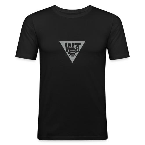 Logo Faust - Männer Slim Fit T-Shirt