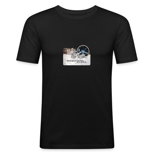MKLang Tasse - Männer Slim Fit T-Shirt