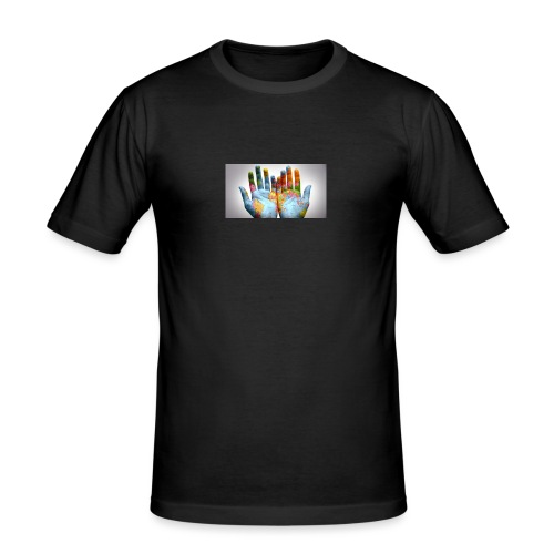 Hands of the world - Slim Fit T-shirt herr