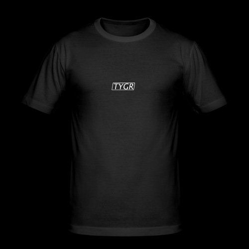 TYGR Box Design - Men's Slim Fit T-Shirt