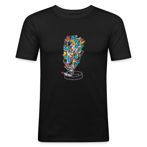 Cigarolors - T-shirt près du corps Homme