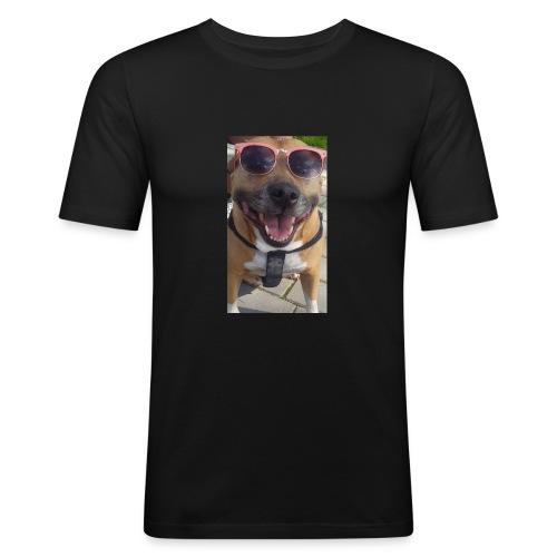Cool Dog Foxy - Mannen slim fit T-shirt