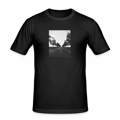 Road and trees - T-shirt près du corps Homme