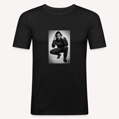 Black M - T-shirt près du corps Homme