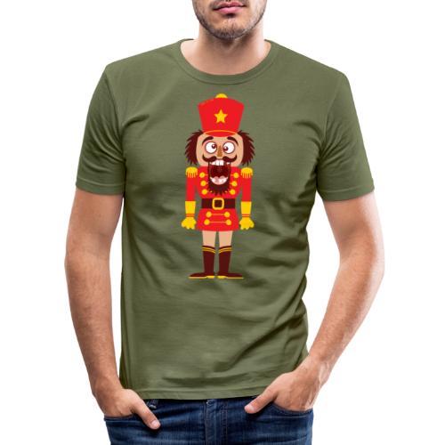 A Christmas nutcracker is a tooth cracker - Men's Slim Fit T-Shirt