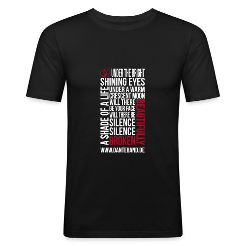 beautifully broken - Männer Slim Fit T-Shirt