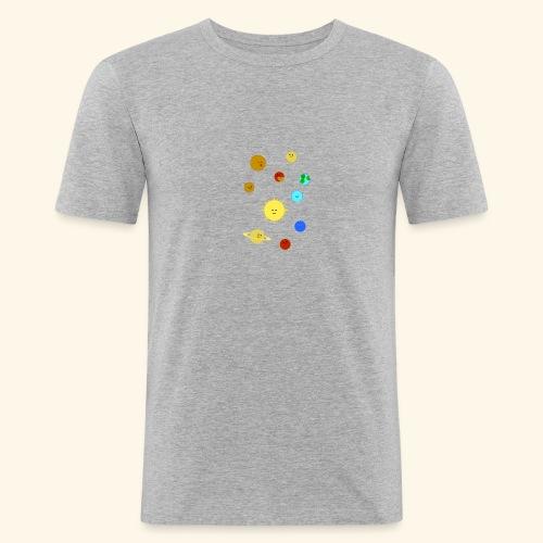 Solsystemet - Slim Fit T-shirt herr
