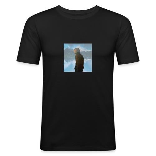 MiniMellow - Slim Fit T-skjorte for menn