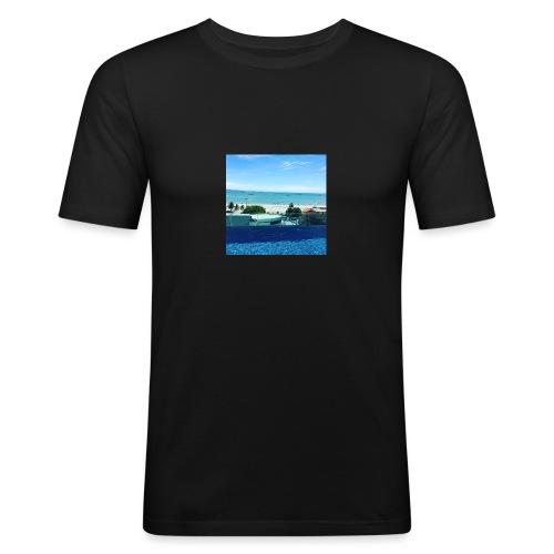 Thailand pattaya - Herre Slim Fit T-Shirt