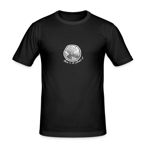 Planet B #2 - Männer Slim Fit T-Shirt