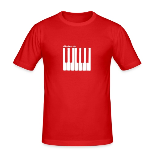 keyboard - Men's Slim Fit T-Shirt