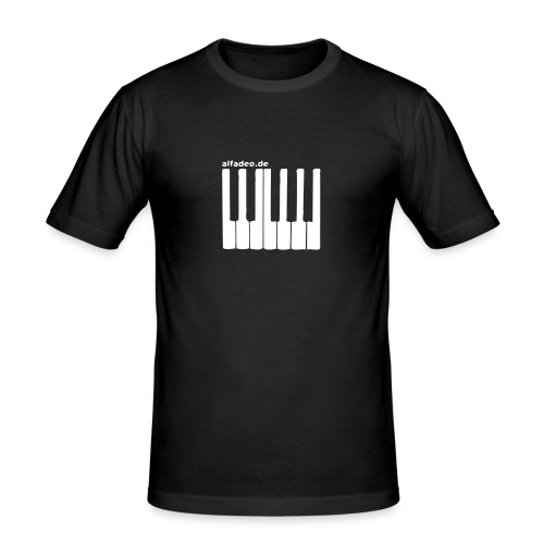 keyboard - Men's Slim Fit T-Shirt