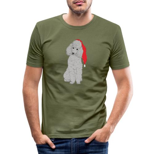 Poodle toy G - christmas - Herre Slim Fit T-Shirt