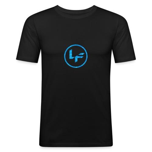 Water Logo - Men's Slim Fit T-Shirt