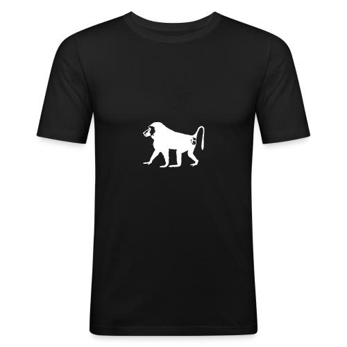 Der Pavian - Männer Slim Fit T-Shirt