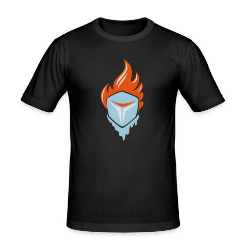 Fire and Ice 3C - Männer Slim Fit T-Shirt