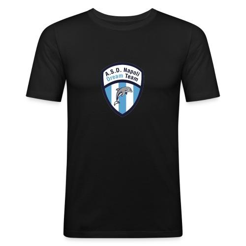 NDT logo - Maglietta aderente da uomo