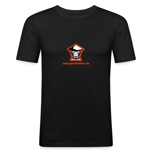 zrzwergrebell3ctoc - Männer Slim Fit T-Shirt