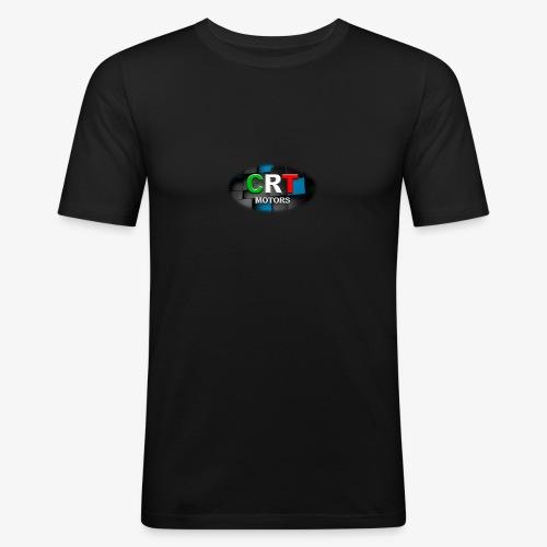 CRT Logo - Men's Slim Fit T-Shirt