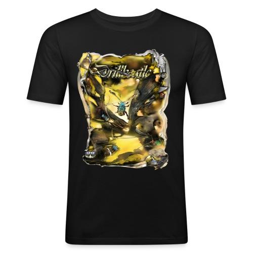drillbeatle - Mannen slim fit T-shirt