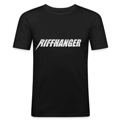 Riffhanger Girlie T-Shirt schwarz - Männer Slim Fit T-Shirt