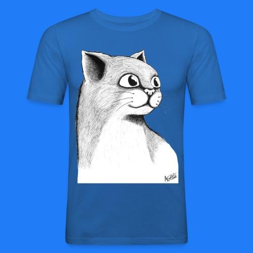 CAT HEAD by AGILL - T-shirt près du corps Homme