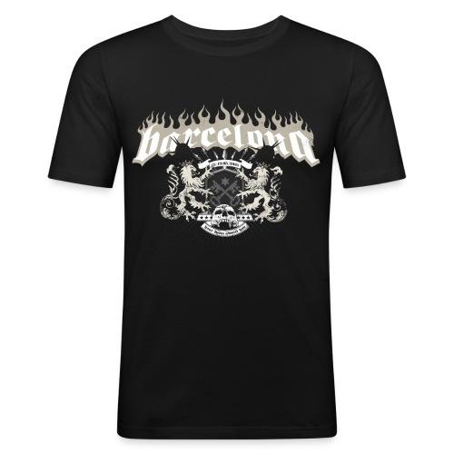 Barcelona_ShirtsJGA_Final - Männer Slim Fit T-Shirt