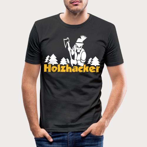 Holzhacker - Männer Slim Fit T-Shirt