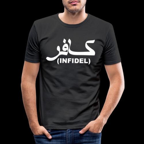 INFIDEL - Men's Slim Fit T-Shirt