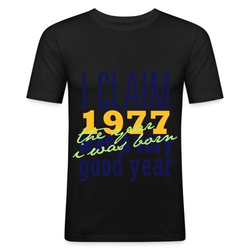 tshirtdesigniclaim1977 - Männer Slim Fit T-Shirt