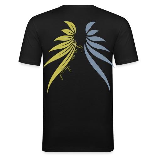 I am an angel or - T-shirt près du corps Homme