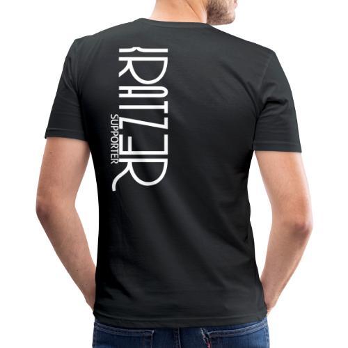 Supporter Shirt - Männer Slim Fit T-Shirt
