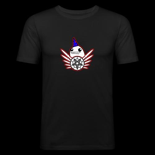 Speedcore Henk MC Logo 2 - Mannen slim fit T-shirt