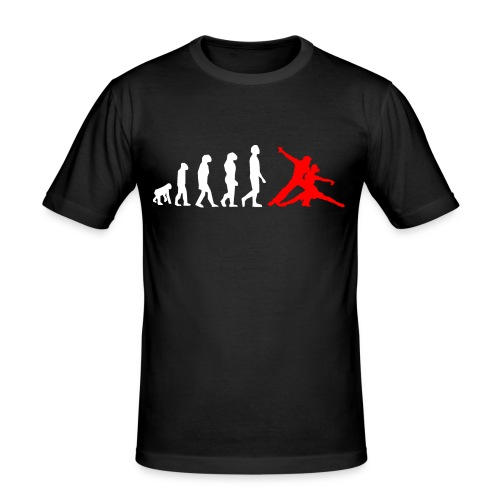 evolutionred - Männer Slim Fit T-Shirt