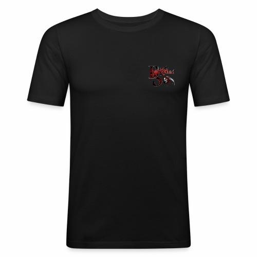 Black Squad Records - Männer Slim Fit T-Shirt