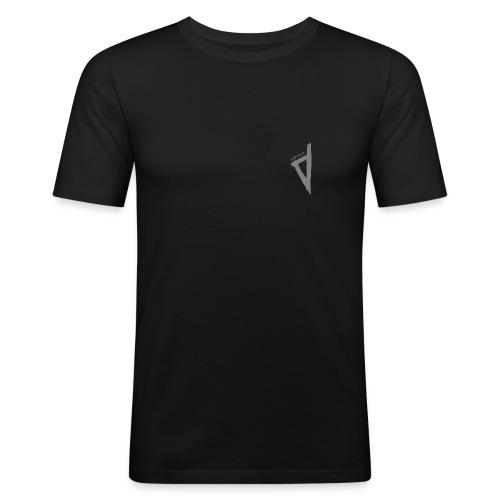 corsica2 gris - T-shirt près du corps Homme