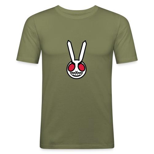 evil bunny - Men's Slim Fit T-Shirt
