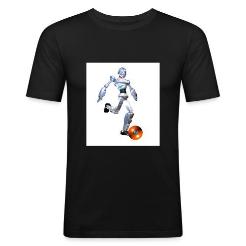 t2004front - Männer Slim Fit T-Shirt
