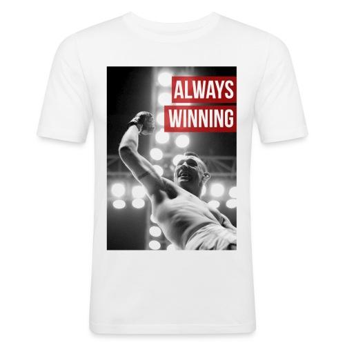 Always Winning - Men's Slim Fit T-Shirt