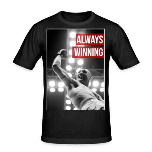 Always Winning - Men's Slim Fit T-Shirt