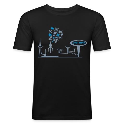 space travell 2 - Männer Slim Fit T-Shirt