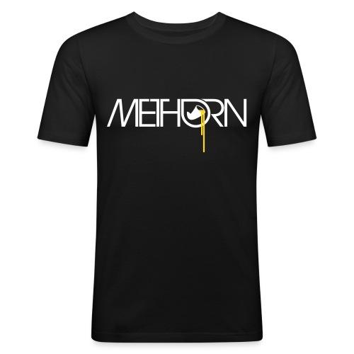 methorn - Männer Slim Fit T-Shirt
