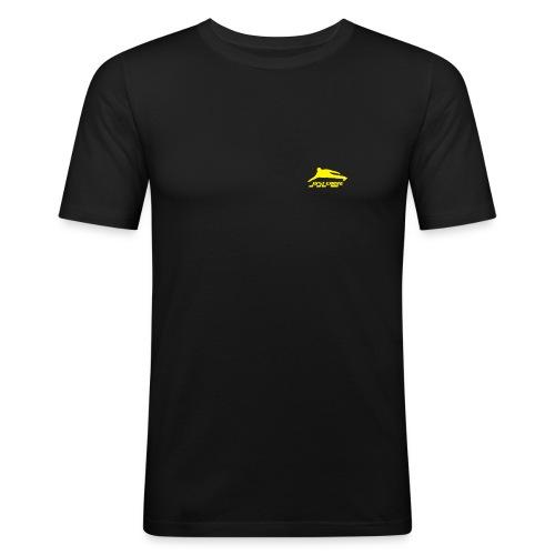 JC Logo - Männer Slim Fit T-Shirt