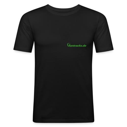 worldtrack - Männer Slim Fit T-Shirt
